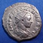 Photo numismatique  Monnaies Empire Romain Elagabalus, Elagabal Antoninian, Antoninianus, Antoninien ELAGABALUS, ELAGABAL, antoninianus Rome en 219, PM TR P II COS II PP, 23mm, 4,62 grms, RIC 22 TB à TTB