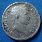 Photo numismatique  Monnaies Monnaies Françaises 1er Empire 1 Franc NAPOLEON Ie, 1 franc 1813 A Paris, Gad.447 quelques traces sinon TTB+