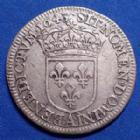 Photo numismatique  Monnaies Monnaies Royales Louis XIV 1/4 d'Ecu à la mèche courte LOUIS XIV, 1/4 d'Ecu à la mèche courte 1643 A (point), 6,70 grms, Gad.139, petite rayure sur le nez et la joue sinon TTB