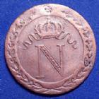 Photo numismatique  Monnaies Monnaies Françaises 1er Empire 10 Centimes NAPOLEON Ie, 10 centimes 1809 BB Strasbourg, Gad.1902 TTB/TB+