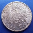 Photo numismatique  Monnaies Allemagne après 1871 Allemagne, Deutschland, Bayern, Baviere 2 mark, Zwei mark BAYERN, BAVIERE, Luitpold prinz régent von Bayern, 2 mark 1911 D, J.48 Petites traces sinon SUP