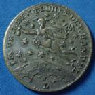 Photo numismatique  Monnaies Monnaies/medailles d'Alsace Mulhouse Médaille de Mulhouse, Mulhausen i.e MULHOUSE, MULHAUSEN i.e, Alsace, Elsass, médaille de 26,8mm, 1816, association des commerçants, gravé par Lauer, Schoen 26, TTB+