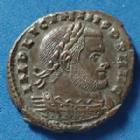 Photo numismatique  Monnaies Empire Romain LICINIUS I, LICINIO I,  Follis, folles,  LICINIUS I, Follis Rome en 314-315, Soli Invicto Comiti, RQ / RX / F, 19mm, 4,06 grms, RIC 30 SUPERBE