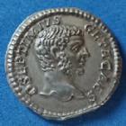 Photo numismatique  Monnaies Empire Romain GETA Denier, denar, denario, denarius GETA, Geta, denier Rome en 209, PONTIF COS II, 18mm, 2,89 grms, RIC 59b SUPERBE+/SUP
