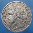 Photo numismatique  Monnaies Monnaies Françaises Troisième République 2 Francs 2 Francs Cérès d'Oudiné 1887 A, Paris, Gad.530a TTB