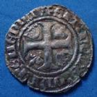 Photo numismatique  Monnaies Monnaies Royales Charles VI Blanc dit