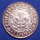 Photo numismatique  Monnaies Monnaies/medailles d'Alsace Strasbourg Gros au Lis STRASBOURG, STRASSBURG, Municipalié fin 14e début 15e siècle, Groschen, Gros au Lis, 26mm, 3,51 grms, EL.384 TTB à SUP