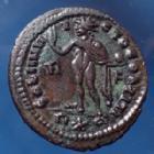 Photo numismatique  Monnaies Empire Romain LICINIUS I, LICINIO I,  Follis ou Nummus LICINIUS I, follis ou nummus Rome en 314, Soli Invicto Comiti, 19-21mm, 3,88 grms, RIC 23 TTB+