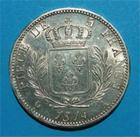 Photo numismatique  Monnaies Monnaies Françaises 1ère Restauration 5 Francs LOUIS XVIII 5 francs 1814 A Paris G.591 Très bel exemplaire!!!!!
