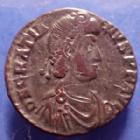 Photo numismatique  Monnaies Empire Romain Gratianus, Gratien Centenionalis GRATIANUS, GRATIAN, GRATIEN, centenionalis Siscia en 378-383, REPARATIO REIPUB, 21mm, 4,30 grms, RIC 26a TTB/TB+