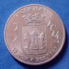 Photo numismatique  Monnaies Monnaies/medailles d'Alsace Cernay, Haut Rhin 3 Ecus de Cernay, Haut Rhin Cernay, Alsace, Haut Rhin, 3 Ecus 18 Novembre - 7 Décembre 1995, porte de Thann, P.SUP