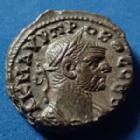 Photo numismatique  Monnaies Colonies Romaines Alexandrie, Alexandria Tétradrachme PROBUS, Alexandrie en 276-277, tétradrachme, aigle, adler, eagle, LB= an 2, 19mm, 7,55g, Dattari 5549 TTB à SUP