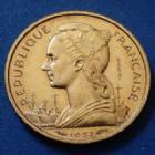 Photo numismatique  Monnaies Anciennes colonies Françaises Madagascar 10 Francs Essai Madagascar MADAGASCAR, 10 francs