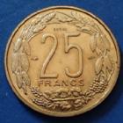 Photo numismatique  Monnaies Monnaies étrangères Cameroun 25 Francs essai, Cameroun Afrique Equatoriale, Cameroun, Institut d'émission, 25 francs 1958 Essai, LEC.30 SUP+