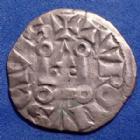Photo numismatique  Monnaies Monnaies Royales Philippe IV Denier tournois à l'O rond PHILIPPE IV le Bel 1290-1295, denier tournois à l'O rond, 0,93 grm, DY.223 TTB