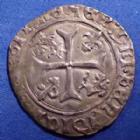 Photo numismatique  Monnaies Monnaies Royales Louis XII Douzain du Dauphiné LOUIS XII, 1498-1514, douzain du Dauphiné, 2,97 grms, DY.671 TB à TTB R!