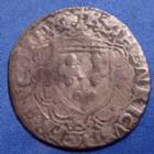 Photo numismatique  Monnaies Monnaies Royales Henri II Douzain à la croisette HENRI II, 1547, Douzain à la croisette K Bordeaux, 1,78 grms, DY.996 B à TB R!R
