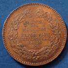 Photo numismatique  Monnaies Médailles Exposition universelle Médaille Exposition universelle de 1878, Administration des monnaies et médailles, médaille de 30mm, traces de vernis sinon Q.SUP