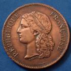 Photo numismatique  Monnaies Médailles Exposition universelle Médaille Exposition universelle de 1889, centenaire de 1789, médaille de 33mm, petits coups sinon TTB+
