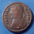 Photo numismatique  Monnaies Empire Romain LICINIUS I, LICINIO I,  Follis ou Nummus LICINIUS Ie, follis ou nummus Héraclea en 317, PROVIDENTIAE AUGG, 19mm, 3,13 grms, RIC.17 P.SUP