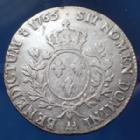 Photo numismatique  Monnaies Monnaies Royales Louis XV Ecu au bandeau LOUIS XV, Ecu au bandeau 1765 AA Metz, Gad.322, 29,00 grms TB+/TTB