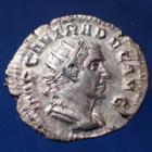 Photo numismatique  Monnaies Empire Romain Decius, Trajanus Decius, Trajan Dèce Antoninien, Antoninian, Antoninianus DECIUS, TRAJANUS DECIUS, TRAJAN DECE, antoninien Rome ou Milan en 250-251, PANNONIAE, 22-23mm, 2,61 grms, RIC 41a P.SUP R!