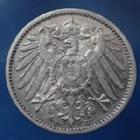 Photo numismatique  Monnaies Allemagne après 1871 Allemagne, Deutschland, Empire, Kaisereich 1 Mark 1 Mark 1904 D, Kaiserreich, Empire Allemand, argent, J.17 TTB