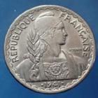 Photo numismatique  Monnaies Anciennes colonies Françaises Indochine 20 Centième Indochine Française, 20 centième 1941, LEC.248 TTB+