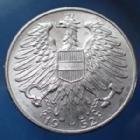 Photo numismatique  Monnaies Monnaies étrangères Autriche, Austria, osterreich 5 schilling 5 Shilling 1952, Osterreich, Autriche, Austria, Jaeckel 457 SUP
