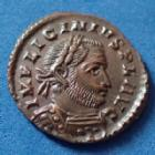 Photo numismatique  Monnaies Empire Romain LICINIUS I, LICINIO I,  Follis ou Nummus LICINIUS Ie, nummus London en 316, SOLI INVICTO COMITI, 18-20mm, 3,27 grms, RIC.60 SPL beau style de portrait!