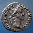 Photo numismatique  Monnaies Empire Romain NERVA Denier, denar, denario, denarius NERVA, denarius Rome en 97, COS III PATER PATRIAE, 17mm, 3,06 grms, RIC.34 SUP très beau style de portrait !