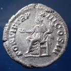 Photo numismatique  Monnaies Empire Romain CARACALLA Denarius, Denier, Denar, Denario CARACALLA, denarius Rome en 210, PONTIF TR P XIII COS III, 19mm, 2,97 grms, RIC.116a TTB+