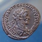 Photo numismatique  Monnaies Empire Romain Diocletianus, Diocletien, Diocletian Antoninian, Antoninianus, Antoninien DIOCLETIANUS, DIOCLETIEN, Antoninianus Lyon ( Lugdunum ) en 287-288, IOVI CONSERVAT AVGG, 22mm, 3,63 g, RIC 35/I Petits points de corrosion sinon SPL
