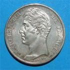 Photo numismatique  Monnaies Monnaies Fran�aises Charles X 2 Francs CHARLES X 2 francs 1826 A Paris G.516 Bel exemplaire!!