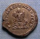 Photo numismatique  Monnaies Empire Romain CARACALLA Denier, denar, denario, denarius CARACALLA, Denier frappé à Rome en 198.217, Trophé et captifs, Cohen 180 TTB+/TTB