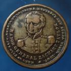 Photo numismatique  Monnaies Monnaies étrangères U.S.A Jeton, Token, Zachary Taylor USA, jeton 24mm, 1847, Major-Général Zachary Taylor, TTB