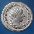 Photo numismatique  Monnaies Empire Romain Gordianus, Gordien Antoninien, Antoninian, Antoninianus GORDIANUS III, GORDIEN III, antoninianus Rome en 243-244, FORTUNA REDUX, 22mm, 4,54 grms, RIC.144 Bon TTB