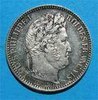 Photo numismatique  Monnaies Monnaies Françaises Louis Philippe 2 Francs LOUIS PHILIPPE Ier 2 francs 1848 A Paris Gad.520 bel exemplaire!!