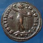 Photo numismatique  Monnaies Empire Romain LICINIUS I, LICINIO I,  Follis ou Nummus LICINIUS I, nummus Ticinum en 314-315, SOLI INVICTO COMITI, 20mm, 3,34 grms, RIC.21 R3, SUP