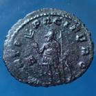 Photo numismatique  Monnaies Empire Romain Gallienus, Gallien Antoninien, Antoninian, Antoninianus GALLIENUS, GALLIEN Antoninien Rome en 265-266, MARTI PACIFERO / A, 22mm, 3,78 grms, RIC.236 SUP/TTB+