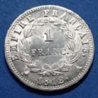 Photo numismatique  Monnaies Monnaies Françaises 1er Empire 1 Franc NAPOLEON Ie, 1 franc Empire 1812 A, Paris, 5,02 grms, Gad.447 quelques traces sinon P.SUP/SUP+