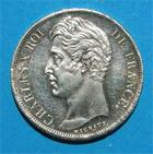 Photo numismatique  Monnaies Monnaies Françaises Charles X 2 Francs CHARLES X 2 francs 1828 K Bordeaux G.516 Bel exemplaire!!!