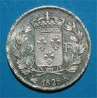 Photo numismatique  Monnaies Monnaies Fran�aises Charles X 2 Francs CHARLES X 2 francs 1828 K Bordeaux G.516 Bel exemplaire!!!