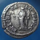 Photo numismatique  Monnaies Empire Romain CARACALLA Denarius, Denier, Denar, Denario CARACALLA, denarius Rome en 201-206, IIII LIBERALITAS AUGG, 19mm, 2,49 grms, RIC.135 TTB+/TTB