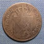 Photo numismatique  Monnaies Allemagne avant 1871 Allemagne, Deutschland, Baden, Bade 6 Kreuzer  BADEN (Bade) VI Kreuzer 1808, KM.140 TB