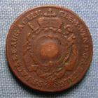 Photo numismatique  Monnaies Monnaies étrangères Allemagne Augsburg 1 Kreuzer Allemagne AUGSBURG 1774 G, 1 Kreuzer, KM.24 TTB