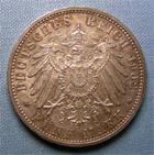 Photo numismatique  Monnaies Monnaies étrangères Allemagne Baden 5 Mark Allemagne BADEN (Bade) 1902, 5 Mark, KM.273 TTB+