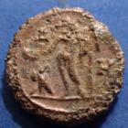 Photo numismatique  Monnaies Colonies Romaines Diocletianus, Diocletien 294.305 Tétradrachme DIOCLETIANUS, DIOCLETIEN, tétradrachme Alexandrie en 291 - 292, Zeus, Dattari 5777, 18,5mm, 6,55 grms, TB à TTB