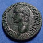 Photo numismatique  Monnaies Empire Romain CALIGULA As, asse,  CALIGULA, GAIUS, As Rome en 39 - 40, Vesta assise, 27-28mm, 11,10 grms, RIC.38 TTB à SUP