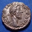 Photo numismatique  Monnaies Empire Romain Commodus, Commode Denarius, Denier, Denar, Denario COMMODUS, COMMODE, denier Rome en 184, COMM ANT AUG P BRIT/ PM TR P VIIII IMP VII COS IIII PP, 18mm, 3,07 g, RIC.94 Var. TTB+/TB+ Rare variante !